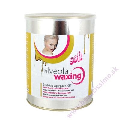 Alveola Waxing Depilačná cukrová pasta SOFT - plechovka 1000 g