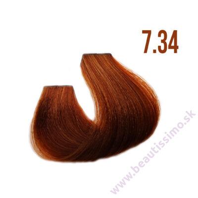 Silky Color Care farba na vlasy 100 ml - 7.34